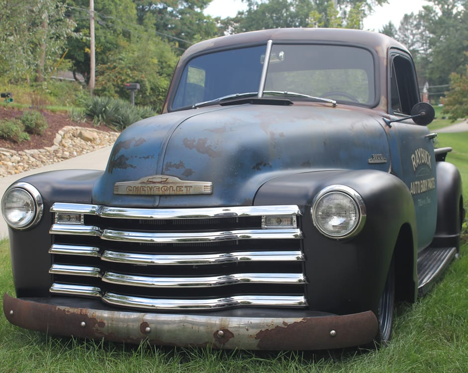 1953 Chevy truck-Raybuck