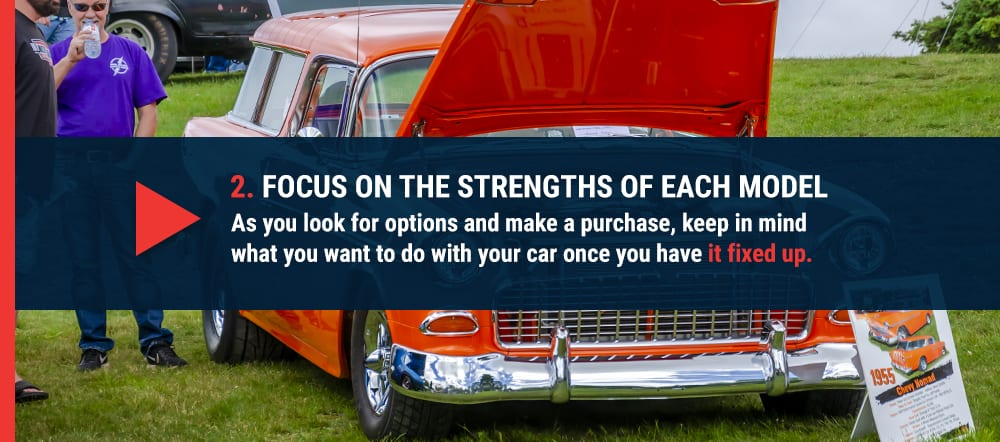 Focus on the strengths of each model
