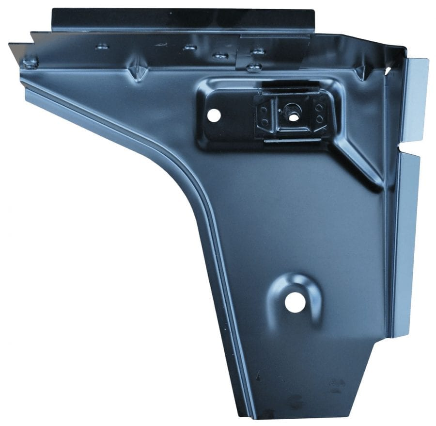 1976-1995 JEEP CJ7 AND YJ WRANGLER FRONT FLOOR SUPPORT DRIVER SIDE