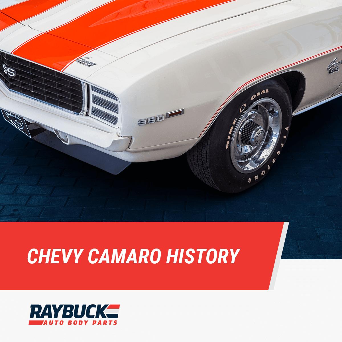 Chevy Camaro History and Evolution