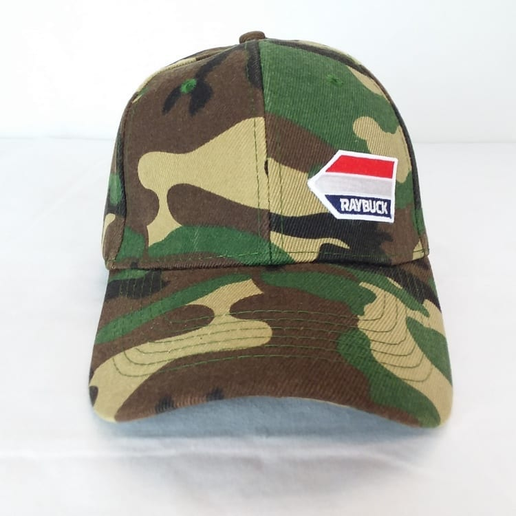 army camo hat front