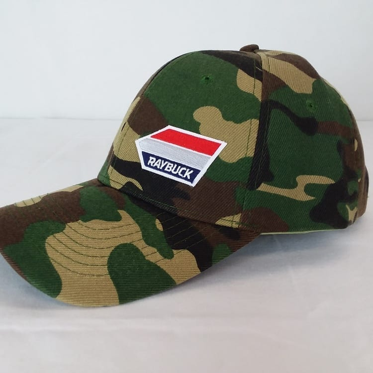 army camo hat side